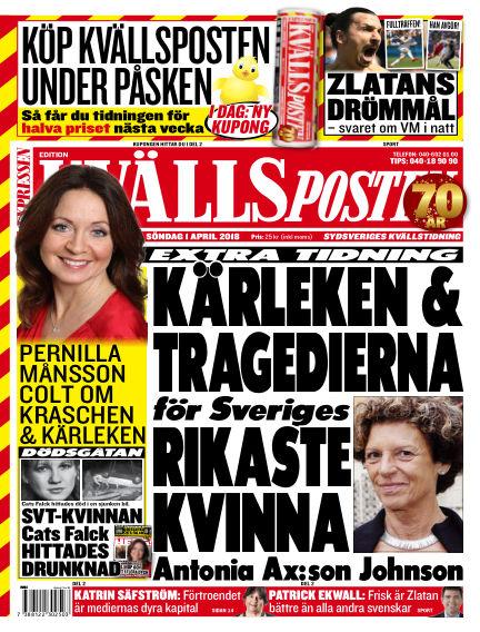 Kvällsposten April 01, 2018 00:00
