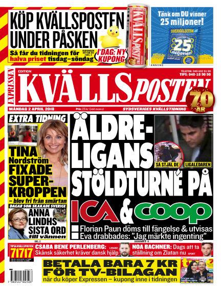 Kvällsposten April 02, 2018 00:00