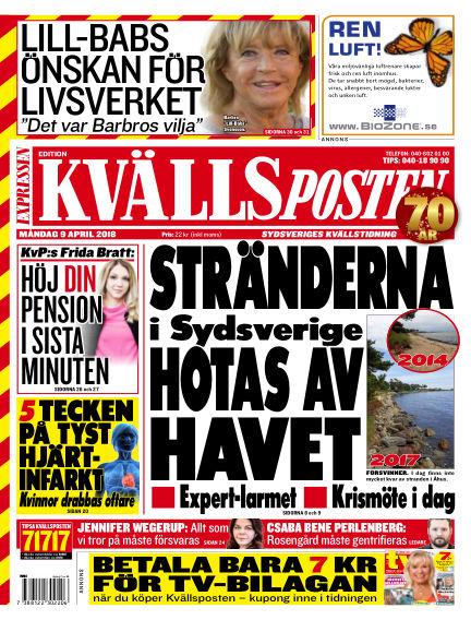 Kvällsposten April 09, 2018 00:00