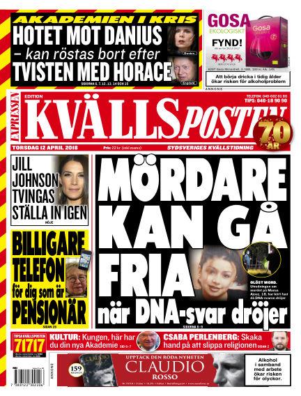 Kvällsposten April 12, 2018 00:00
