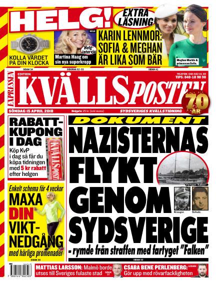 Kvällsposten April 15, 2018 00:00