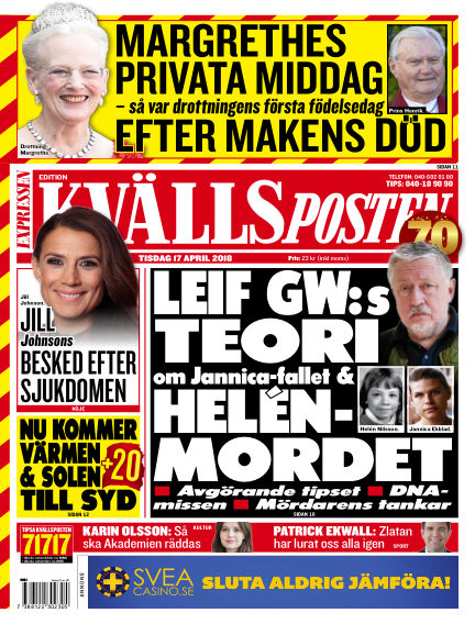 Kvällsposten April 17, 2018 00:00