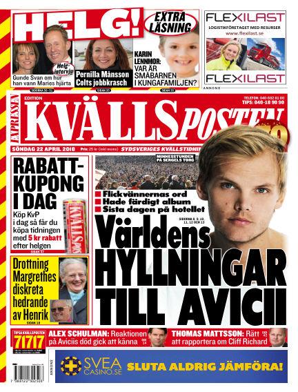 Kvällsposten April 22, 2018 00:00