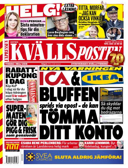 Kvällsposten May 01, 2018 00:00