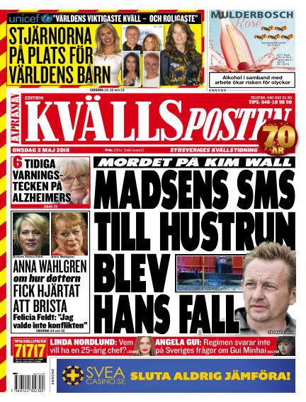 Kvällsposten May 02, 2018 00:00