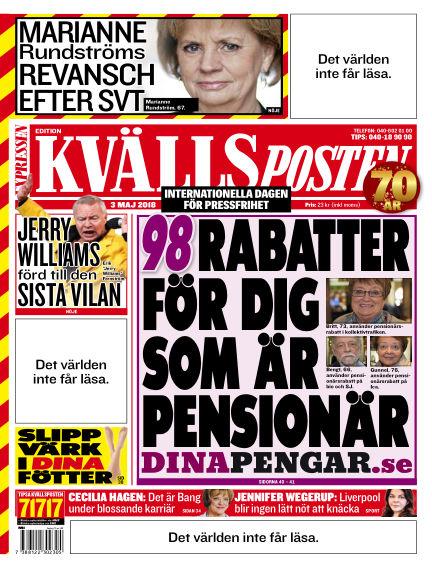 Kvällsposten May 03, 2018 00:00