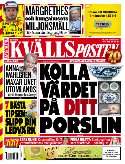 Kvällsposten May 04, 2018 00:00