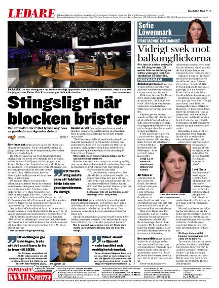 Kvällsposten May 07, 2018 00:00