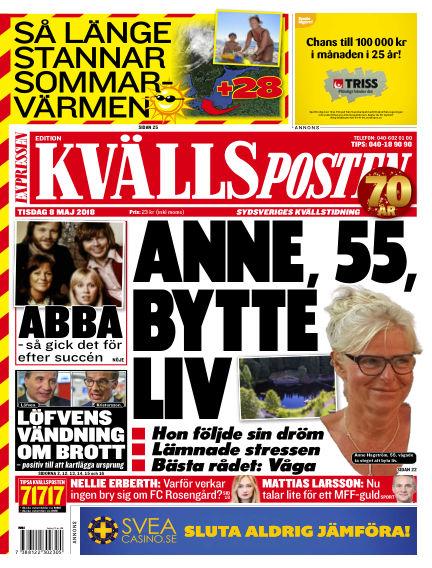 Kvällsposten May 08, 2018 00:00