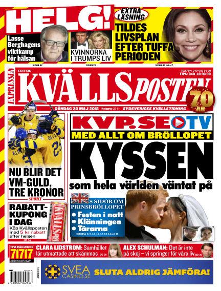 Kvällsposten May 20, 2018 00:00