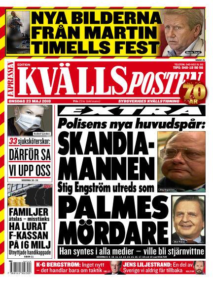 Kvällsposten May 23, 2018 00:00