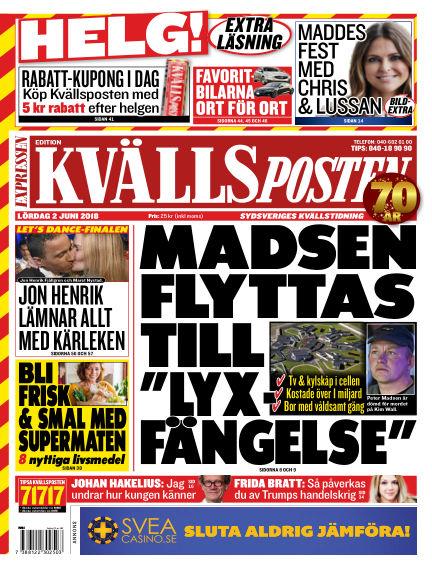 Kvällsposten June 02, 2018 00:00