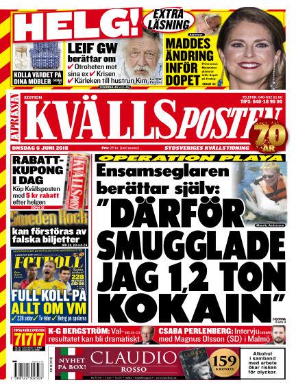 Kvällsposten June 06, 2018 00:00