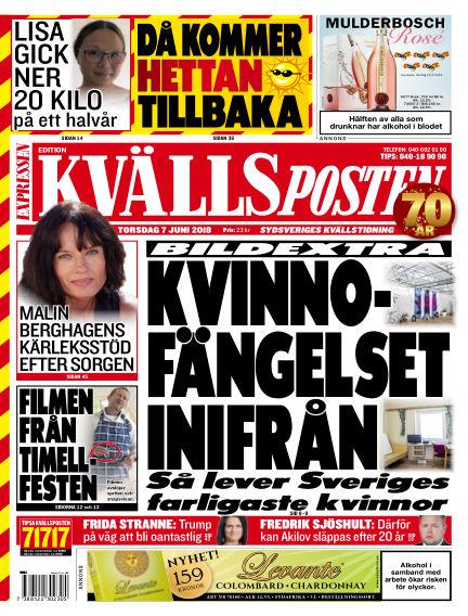 Kvällsposten June 07, 2018 00:00