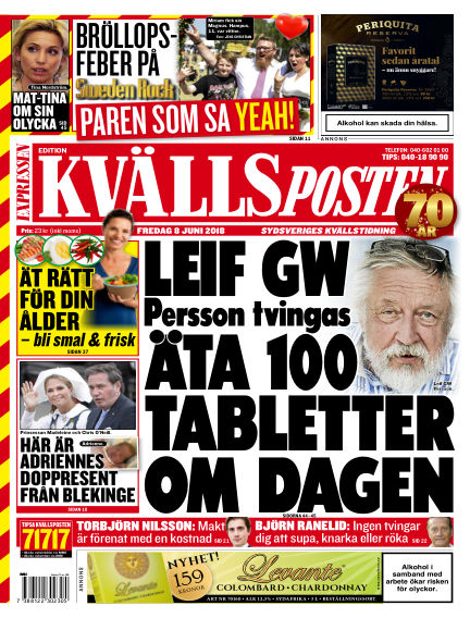 Kvällsposten June 08, 2018 00:00