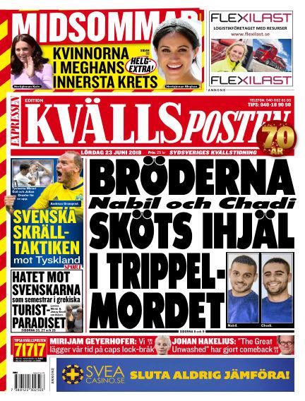 Kvällsposten June 23, 2018 00:00