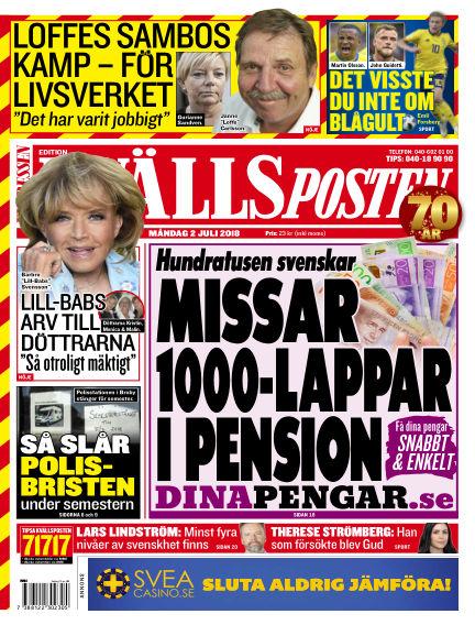 Kvällsposten July 02, 2018 00:00