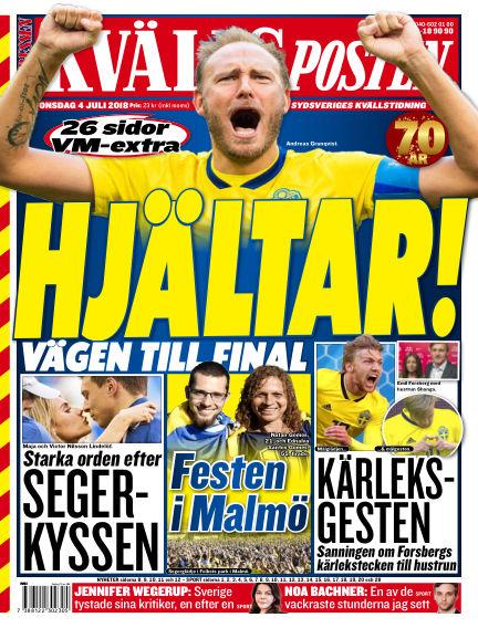 Kvällsposten July 04, 2018 00:00