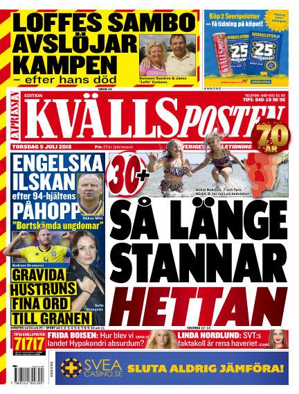 Kvällsposten July 05, 2018 00:00