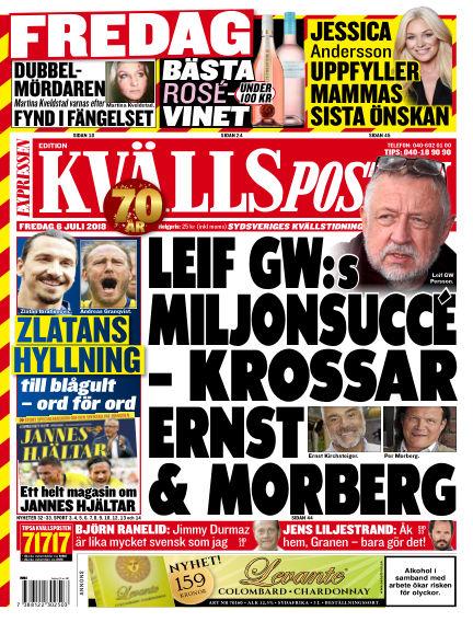 Kvällsposten July 06, 2018 00:00