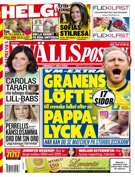 Kvällsposten July 07, 2018 00:00