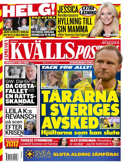 Kvällsposten July 08, 2018 00:00