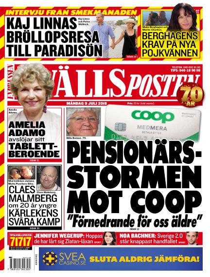 Kvällsposten July 09, 2018 00:00