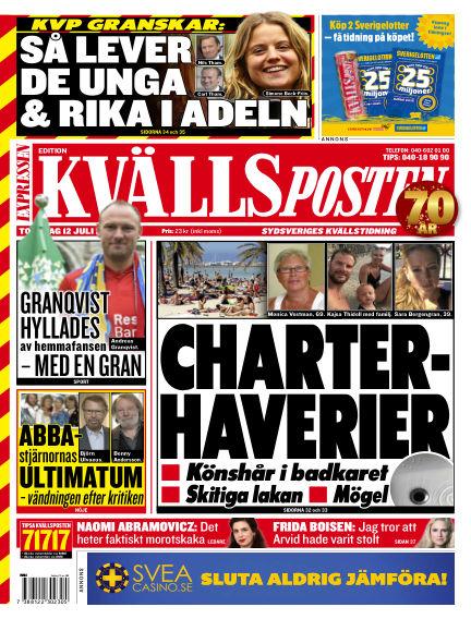 Kvällsposten July 12, 2018 00:00