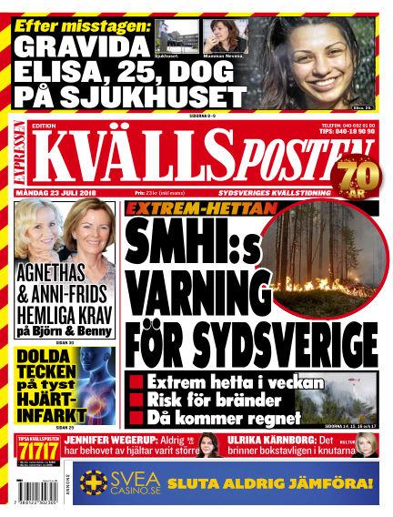 Kvällsposten July 23, 2018 00:00