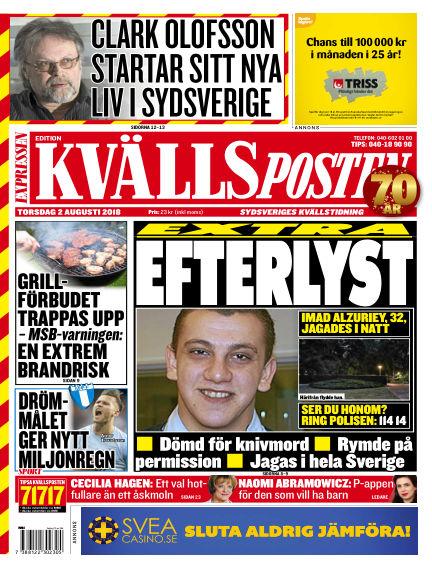 Kvällsposten August 02, 2018 00:00