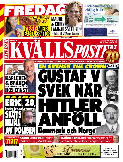 Kvällsposten August 03, 2018 00:00