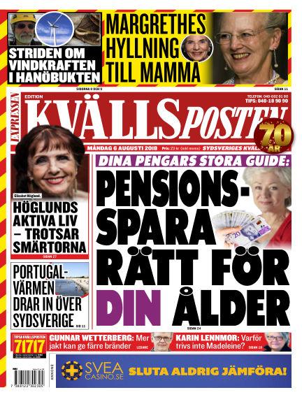 Kvällsposten August 06, 2018 00:00