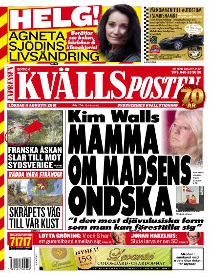 Kvällsposten August 11, 2018 00:00