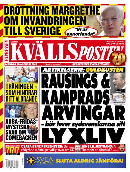 Kvällsposten August 20, 2018 00:00