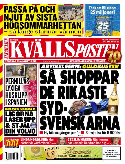 Kvällsposten August 23, 2018 00:00