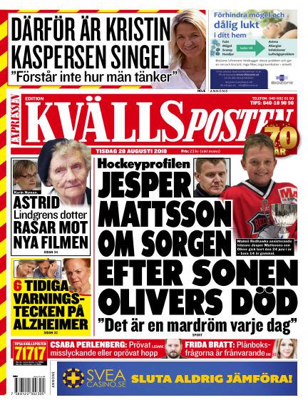 Kvällsposten August 28, 2018 00:00