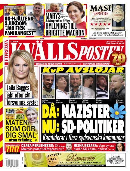 Kvällsposten August 29, 2018 00:00