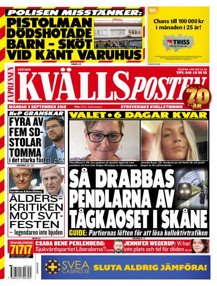 Kvällsposten September 03, 2018 00:00
