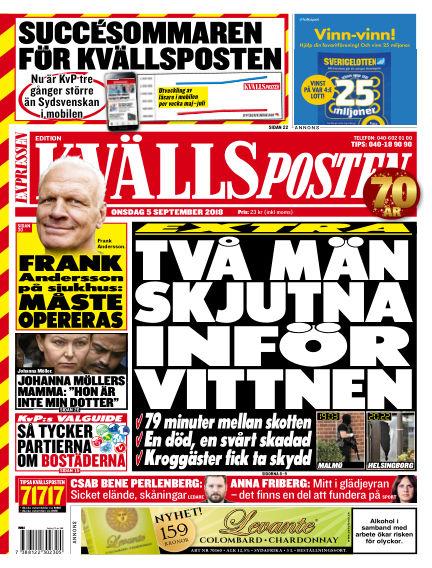 Kvällsposten September 05, 2018 00:00