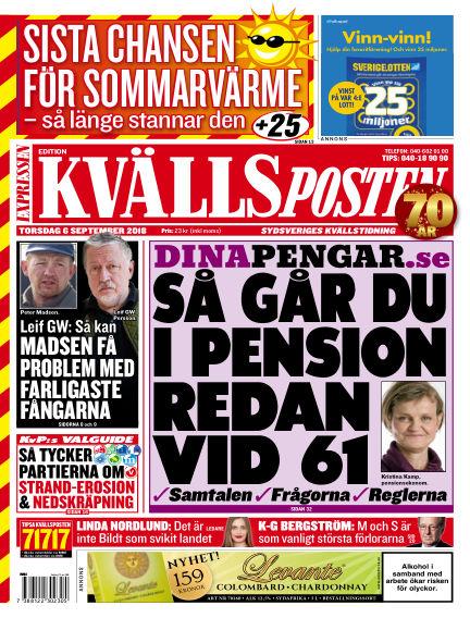 Kvällsposten September 06, 2018 00:00