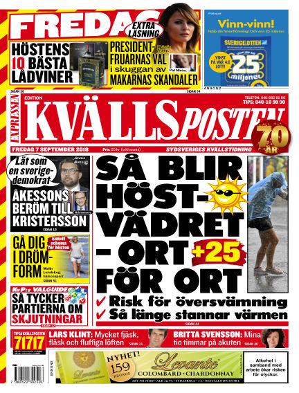 Kvällsposten September 07, 2018 00:00
