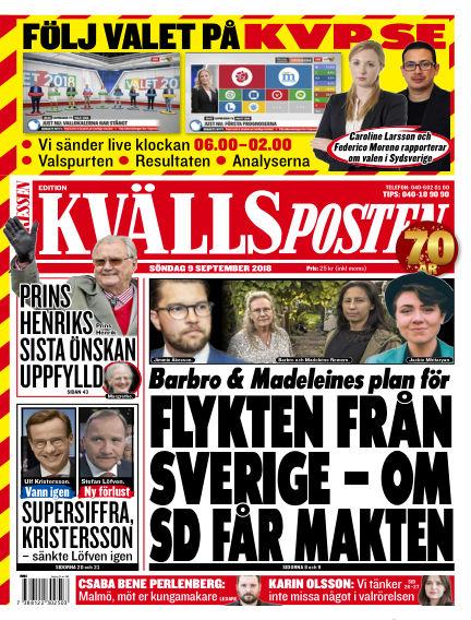 Kvällsposten September 09, 2018 00:00