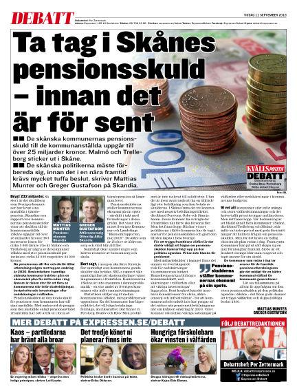 Kvällsposten September 11, 2018 00:00