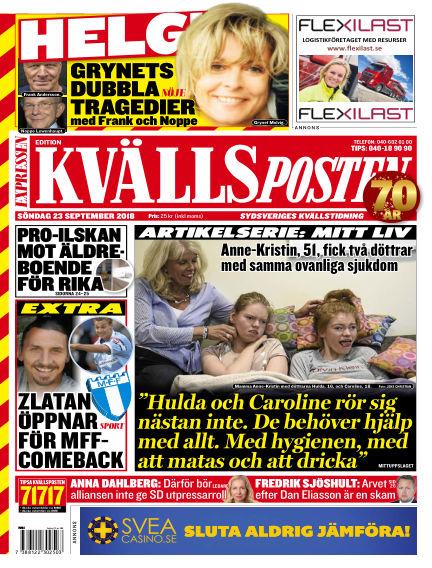 Kvällsposten September 23, 2018 00:00