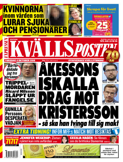 Kvällsposten October 04, 2018 00:00