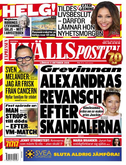 Kvällsposten October 06, 2018 00:00