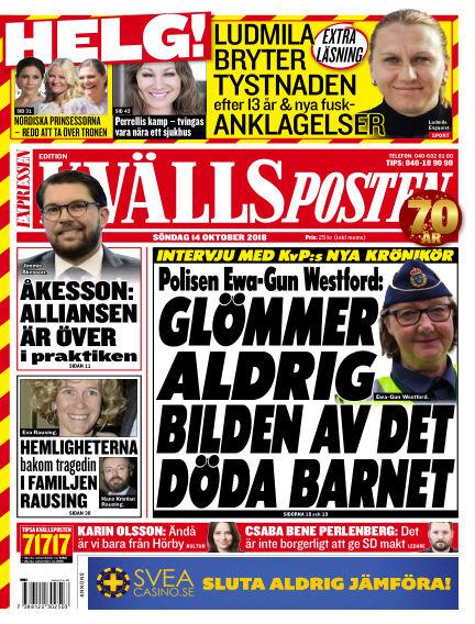 Kvällsposten October 14, 2018 00:00