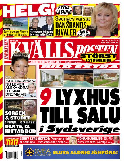 Kvällsposten November 10, 2018 00:00