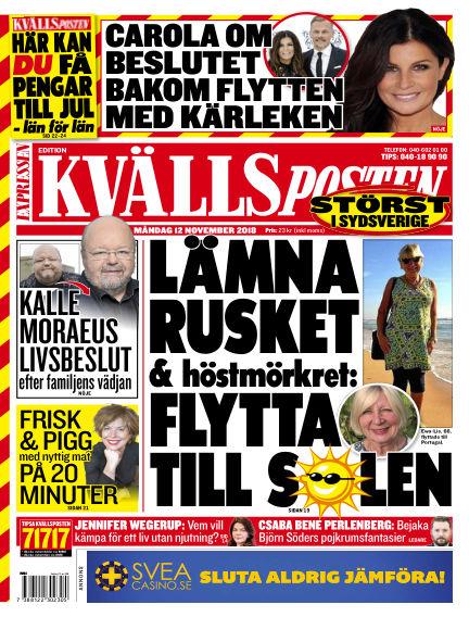 Kvällsposten November 12, 2018 00:00