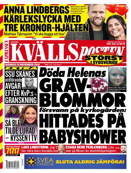 Kvällsposten November 19, 2018 00:00